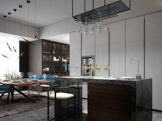 Norm designhaus Ruang Makan Modern