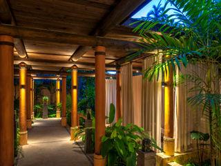 BR ARQUITECTOS Hôtels tropicaux Bois Effet bois