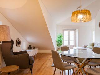 Traço Magenta - Design de Interiores Salle à mangerAccessoires & décorations Vert