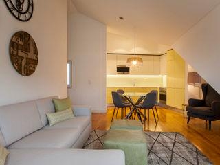 Traço Magenta - Design de Interiores SalonAccessoires & décorations Vert
