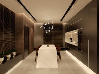 Studio Diego Duracenski Interiores Modern kitchen Black