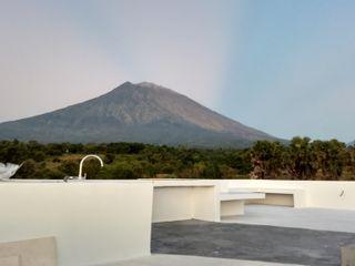 Nuansa Studio Architect Flat roof Reinforced concrete White