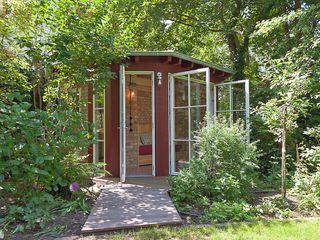 Lena Klanten Architektin Garden Shed Wood Red
