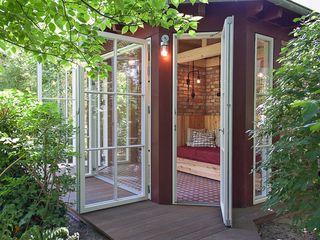 Lena Klanten Architektin Garden Shed Wood