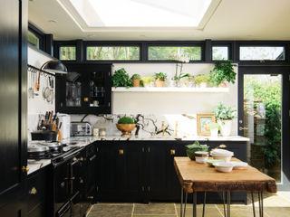 deVOL Kitchens Вбудовані кухні Масив Чорний