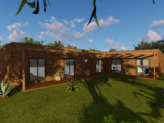Discovercasa | Casas de Madeira & Modulares 목조 주택 우드 갈색