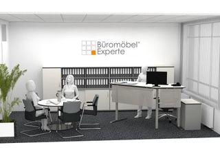 Innovative Methode für Büroeinrichtung Büromöbel-Experte Klassische Arbeitszimmer