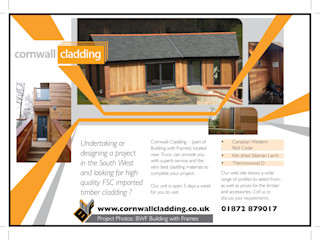 Cornwall Cladding Building With Frames Prefabricated home Wood