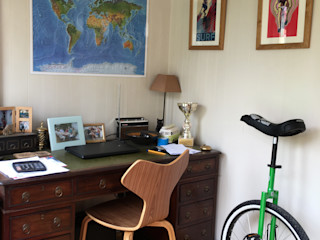 Contemporary Garden Office Garden Affairs Ltd Modern study/office Wood Grey