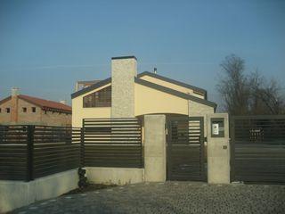 Architetti Baggio Fertighaus Holz Beige