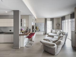 studiodonizelli Moderne Wohnzimmer Holz Braun