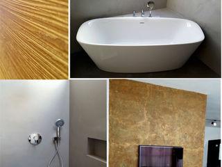 luanna design Moderne muren & vloeren Beton Grijs