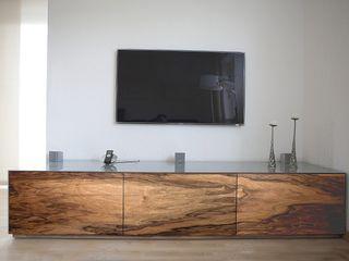 luanna design WoonkamerTV- & mediameubels Hout Grijs