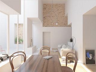 Corpo Atelier Minimalist living room White