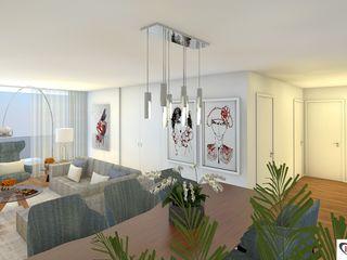 Intense mobiliário e interiores Soggiorno moderno
