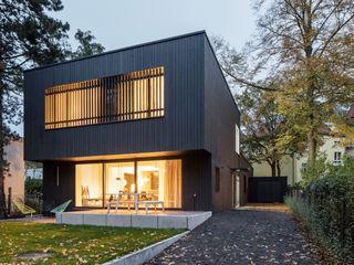 REANIMATION einer alten Druckerei Sehw Architektur Einfamilienhaus