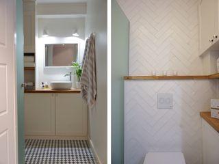 Baltic Design Shop Scandinavian style bathroom Wood White