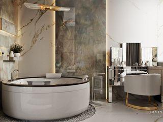GLAM PROJECT Sp. z o.o. Moderne Badezimmer Beige