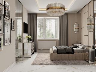 GLAM PROJECT Sp. z o.o. Moderne Schlafzimmer Beige