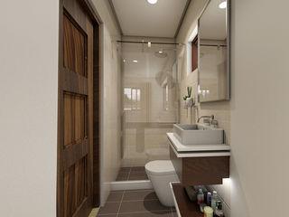 Brand new 2 storey house - Bathroom homify Modern style bedroom