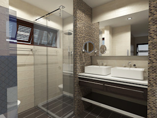 Major renovation and expansion project in Talisay City - bathroom homify Modern bathroom