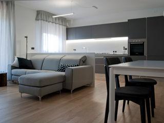 Appartamento RF Margherita Mattiussi architetto Soggiorno moderno