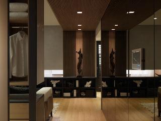 Twist 形構設計 Morpho-Design 現代風玄關、走廊與階梯