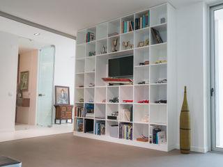 Moderestilo - Cozinhas e equipamentos Lda LivingsBibliotecas, estanterías y modulares Tablero DM Blanco
