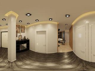 homify Modern corridor, hallway & stairs