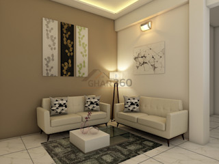 Ghar360 Living roomAccessories & decoration