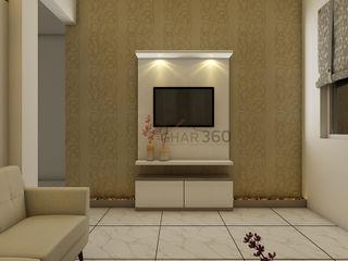 Ghar360 Living roomTV stands & cabinets
