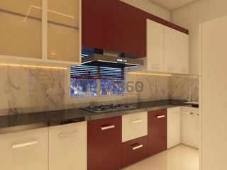Ghar360 KitchenCabinets & shelves