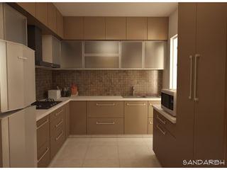 Kitchen Sandarbh Design Studio Kitchen