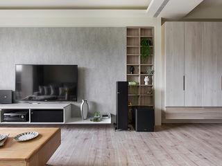 達譽設計 Living room Engineered Wood