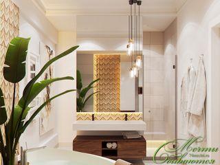Компания архитекторов Латышевых 'Мечты сбываются' Casas de banho clássicas