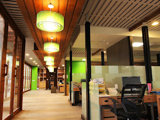 Pilaster Studio Design Industrial style office buildings