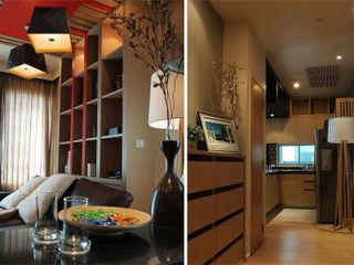 Pilaster Studio Design Modern living room