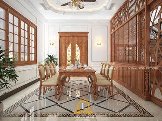Nội thất Long Thành Kitchen Wood effect