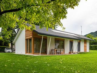 Woodbau Srl Maisons préfabriquées Bois Blanc