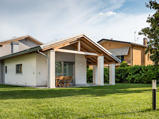 Woodbau Srl Chalets & maisons en bois