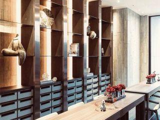On Designlab.ltd Dining roomTables Marble Brown