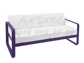 NATUREL METAL FERFORJE SalonesSofás y sillones Metal Morado/Violeta