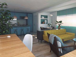 aponto Phòng khách Multicolored