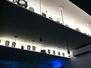 aponto Hầm rượu phong cách hiện đại Than củi Blue