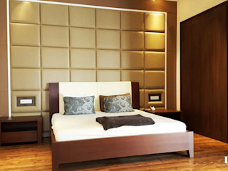 Likha Interior Modern Bedroom Plywood Brown