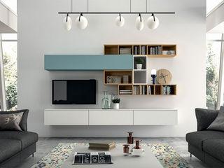 Living room ROOM 66 KITCHEN&MORE Soggiorno moderno