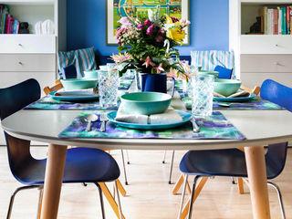 Regina Dijkstra Design Eclectic style dining room