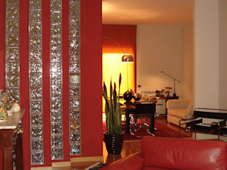 MEF Architect Salon moderne Rouge