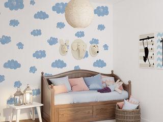 Humpty Dumpty Room Decoration Baby room Blue