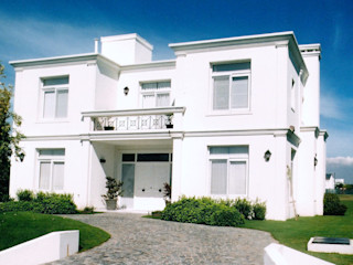 Estudio Dillon Terzaghi Arquitectura - Pilar Rumah tinggal Batu Bata White